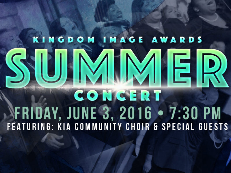 Kingdom Image Awards Summer Concert